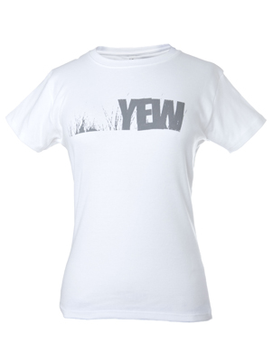 Women's White Grass T-shirt