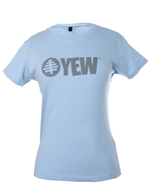 Women's Sky Blue Yew T-shirt